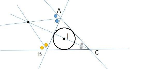 三角形の傍心の性質4