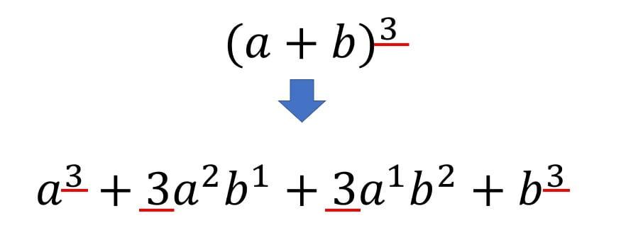 乗 展開 公式 の 3