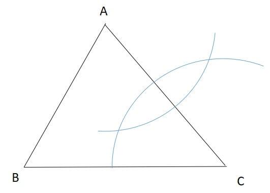 三角形の重心の見つけ方