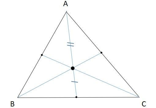 三角形の重心《性質》