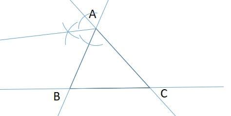 三角形の傍心の見つけ方