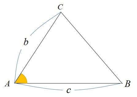 sinを用いた面積公式