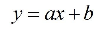 接線は1次関数