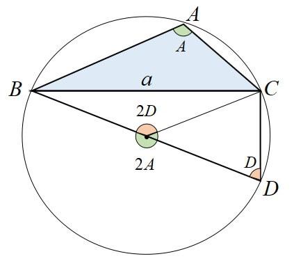 正弦定理 証明3