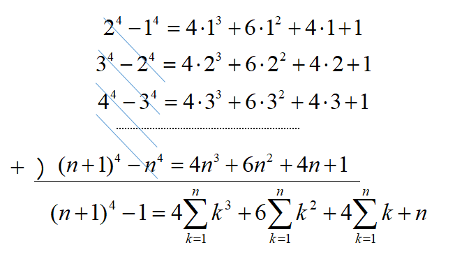 シグマの公式証明④